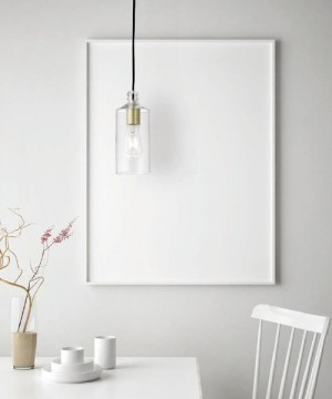 SFORZIN Ebe 1744.12 Lampadario Moderno Vetro 2 Colori