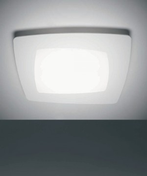 SFORZIN Debra Quadra Grande 1742.22 Lampada Parete/Soffitto a LED Bianca