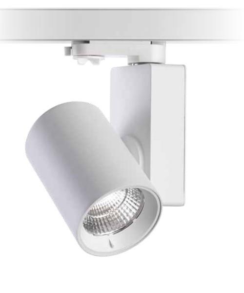 PAN Ska Faretto da Binario a LED 25w 4000K Bianco