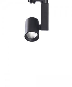 PAN Ska Faretto da Binario a LED 25w 3000K Nero