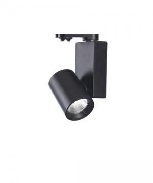 PAN Ska Faretto da Binario a LED 33w 3000K Nero