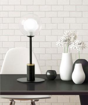 SFORZIN Cosmo 1744.171 Lampada Moderna da Tavolo 1 Luce con Dimmer