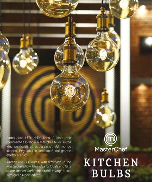 AMARCORDS MC100 Lampadina Decorativa a LED Filamento MasterChef