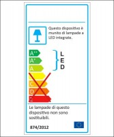 AMARCORDS MC100 etichetta energetica