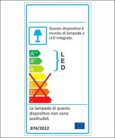 AMARCORDS MC101 etichetta energetica
