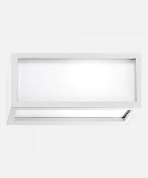 PAN Connection EST01005 Lampada per Esterno da Parete 20w FTB Bianco
