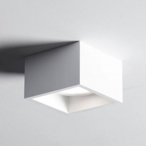 SFORZIN MYLASA Lampada da Soffitto o Parete in Gesso 1 Luce