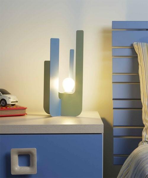 Gibas young 181 31 lampada per cameretta da tavolo 2 colori la luceria - Lampada per cameretta ...