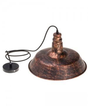 AMARCORDS Loft Bells CA300 Lampadario Rustico D36cm in finitura Ruggine