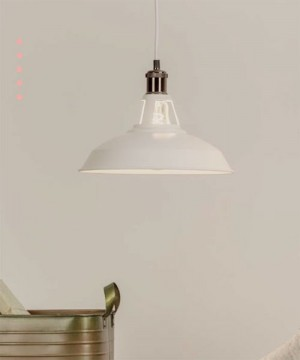 ARMACORDS Loft Bells CA301 Lampadario Rustico D31cm in finitura Bianco