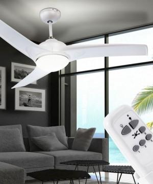 GLOBO Primo 0305 Ventilatore a Soffitto 3 Pale con Telecomando