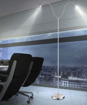 GLOBO Serpent 24109-2S Lampada Moderna da Soffitto 2 Luci LED Modellabili