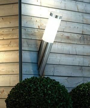 GLOBO Boston 3157 Lampada da Parete per Esterno Applique Inox H. 40cm