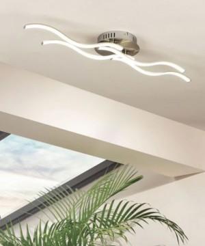 GLOBO SARKA 67000-14D Plafoniera a LED Moderna con Diffusore Onda 14w