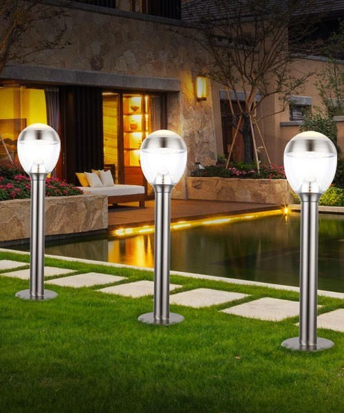 Globo callisto 34251 lampada per esterno da terra for Lampade per esterno