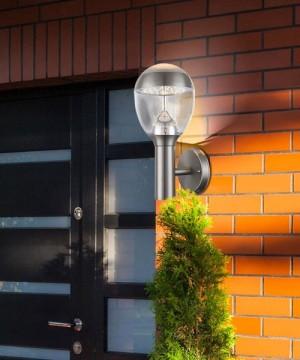 GLOBO Callisto 34250 Lampada per Esterno da Parete Applique a LED Acciaio Inox