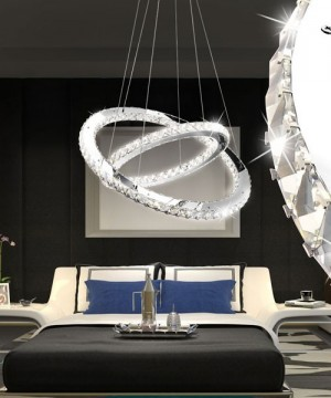 GLOBO Marilyn 67032-60 Lampadario a LED Moderno con Cristalli K9 60w