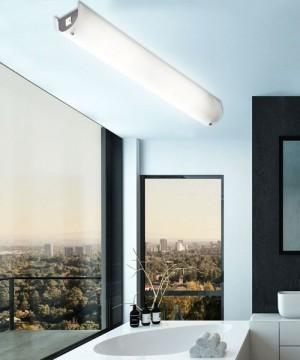 Lampade soffitto bagno latest sailun w ultra sottile led regolabile plafoniera moderno lampada - Lampada da bagno ...