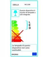 PAN Jango Round INC1180D Faretto da Incasso LED 9w Dimmerabile
