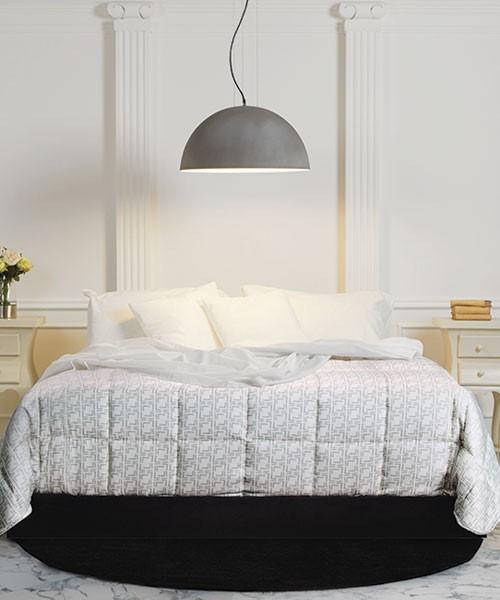 I punti luce per la camera da letto