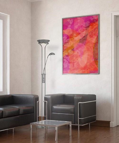 Illuminazione del salotto moderno