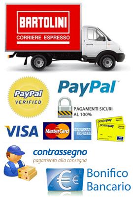 Spedizioni e pagamenti
